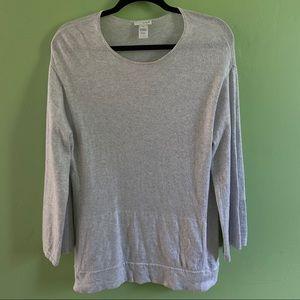 Pure Jill | J. Jill | Cotton & cashmere tunic
